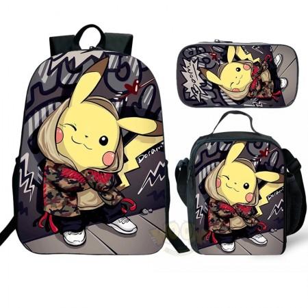Pokemon Backpack Pokemon School Backpack Kids Backpack pokémon backpack
