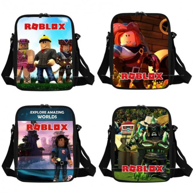 Roblox Lunch Box Waterproof Insulated Lunch Bag Portable Lunchbox