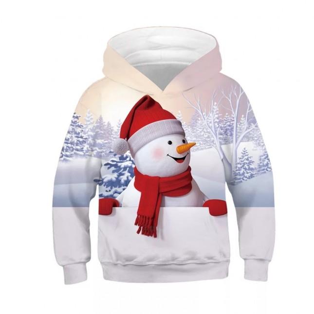 woow Christmas 3D Print Hoodie Sweatshirt 2
