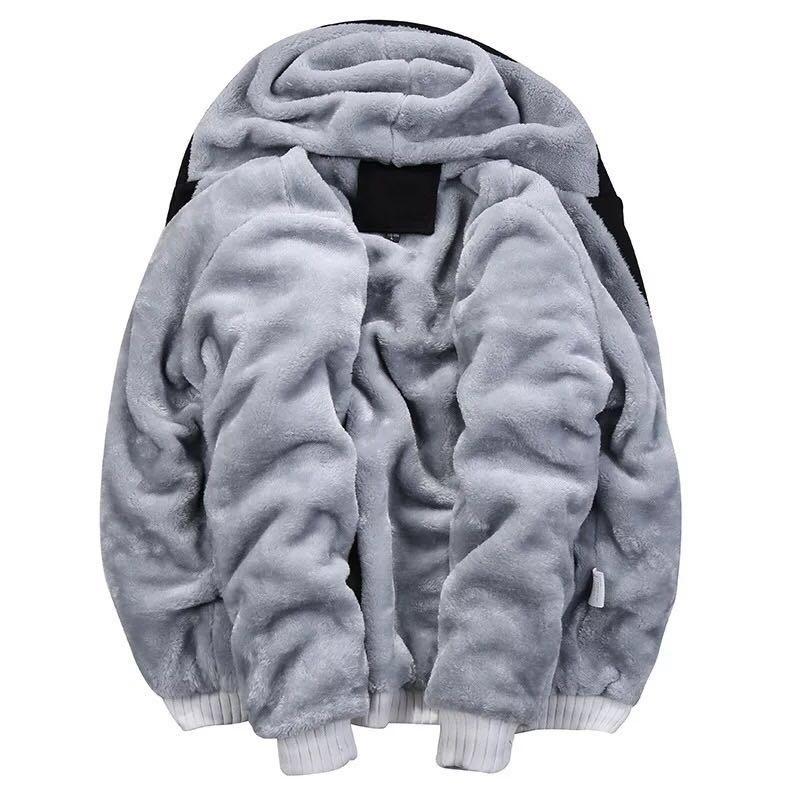 Roblox Camouflage Jackets Thick Fleece Hoodies Winter Coats