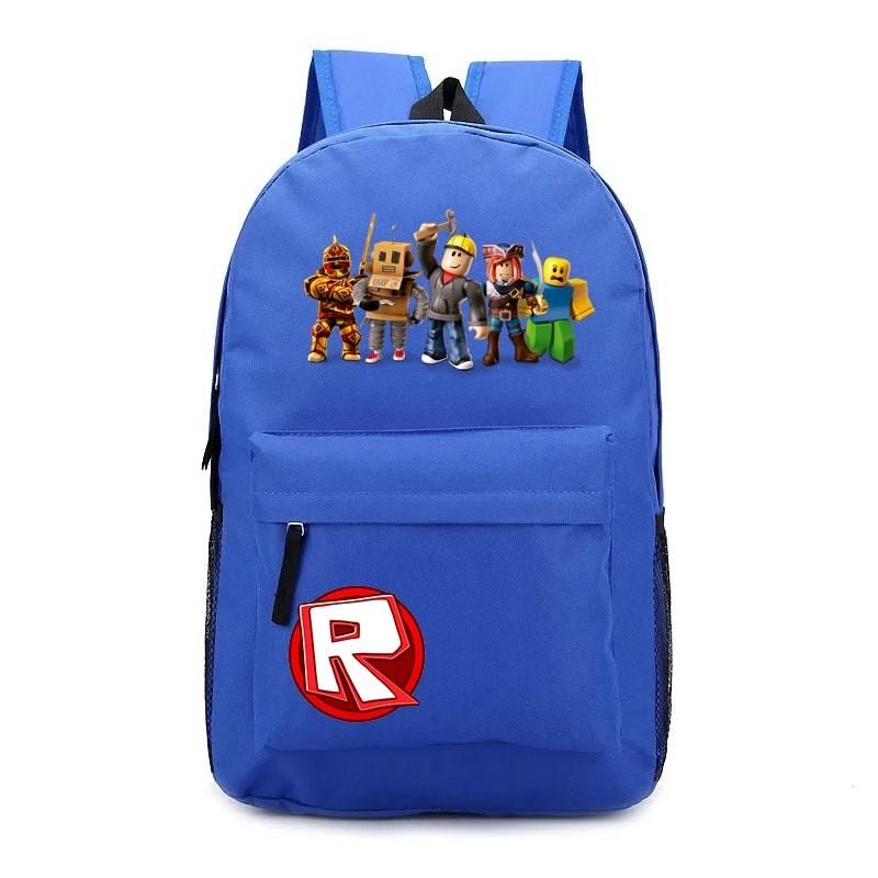 Roblox Avatar Games Zipper Rucksack School Backpack Book Bag Roblox Backpack Bookbag School Bag