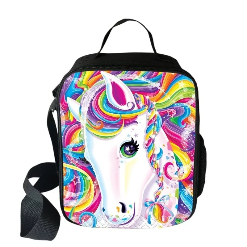 Unicorn Lunch Box Waterproof Insulated Lunch Bag Portable