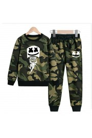 New Marshmello Kids Hoodies Cotton Camo Sweatshirts