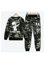 New Marshmello Kids Hoodies Cotton Camo Sweatshirts 2
