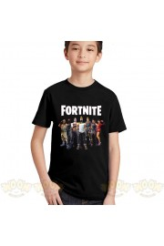 Fortnite T-Shirt Kids Cotton Shirt Funny Youth Tee 8
