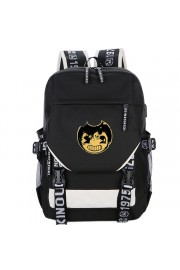 Bendy and the Ink Machine backpack USB charging port bookbag (5 color)