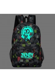 Bendy and the Ink Machine backpack bookbag Glows in the dark (9 color)