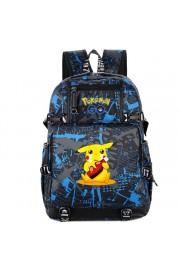 Pokemon backpack Pikachu bookbag large capacity school bag(6 color)