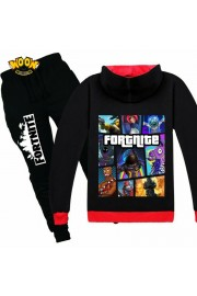 Fortnite Zip Hoodies Kids Cotton Sweatshirts 1
