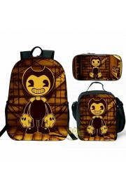 bendy and the ink machine Backpack Lunch box