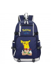 Pokemon backpack Pikachu bookbag large capacity school bag