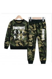 New Fortnite dance Kids Hoodies Cotton Camo Sweatshirts 3