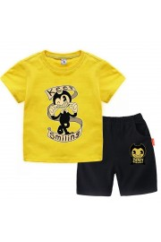 Bendy and the Ink Machine T-Shirt Kids Cotton Shirt Funny Youth Tee 7