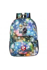 Roblox galaxy backpack lightning bookbag (8 color)