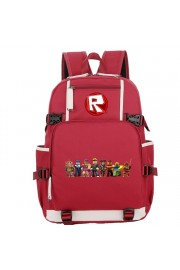 Roblox backpack large capacity bookbag lightning school bag