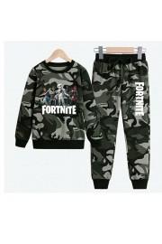 New Fortnite Marshmello Kids Hoodies Cotton Camo Sweatshirts 5