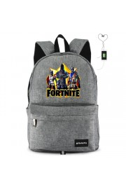 Fortnite Backpack waterproof with USB Charging Port (2 color)