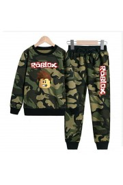 New Roblox Boys Hoodies Cotton Camo Sweatshirts 5