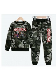 New Roblox Boys Hoodies Cotton Camo Sweatshirts 4