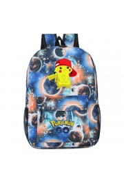 Pokemon Pikachu backpack galaxy bookbag (8 color)