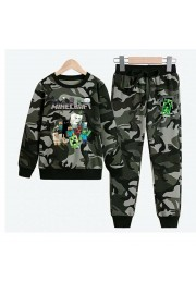 Boys Minecraft Hoodies Cotton Camo Sweatshirts 5