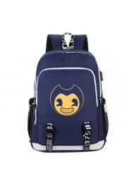 Bendy and the Ink Machine backpack USB charging port bookbag school bag(5 color)