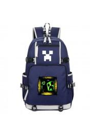 Minecraft Backpack Creeper Window Bookbag Large Capacity
