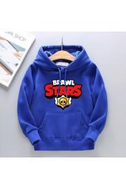Brawl Stars Hoodies Cotton Fleece Sweatshirts