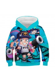 Brawl Stars Hoodie 3D Print Sweatshirt Fashion Clothing 1