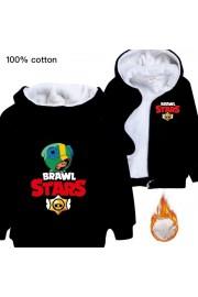 Brawl Stars Hoodies Zip Up Fleece Jackets Winter Coats 1