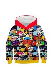 Brawl Stars Hoodie 3D Print Sweatshirt Fashion Clothing 3