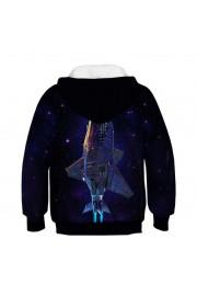 woow Black galaxy 3D Print Hooded Sweatshirt