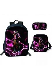 Fortnite Drift Backpack Lunch box School Bag Bookbag 2