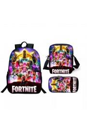 Fortnite Backpack Lunch box School Bag Kid Bookbag