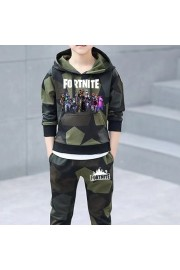 Fortnite Kids Camouflage Cotton Hoodie and sweatpants 2-Piece