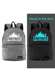 Fortnite Backpack waterproof with USB Charging Port Blue Noctilucan (2 color)