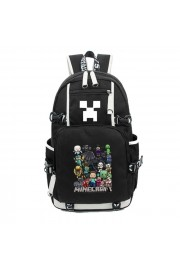 Minecraft Backpack All Characters Bookbag Large Capacity