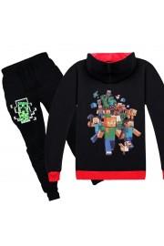 Minecraft Zip Hoodies Kids Cotton Sweatshirts 5