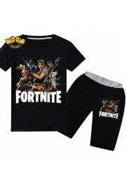 Fortnite T-Shirt Kids Cotton Shirt Funny Youth Tee 2