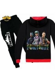 Fortnite Zip Hoodies Kids Cotton Sweatshirts 4