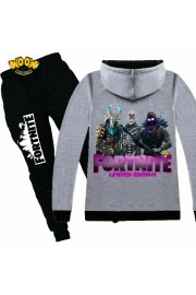 Fortnite Zip Hoodies Kids Cotton Sweatshirts 6