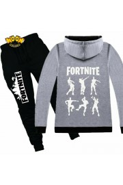 Fortnite Zip Hoodies Kids Cotton Sweatshirts 9