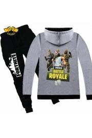 Fortnite Zip Hoodies Kids Cotton Sweatshirts 11