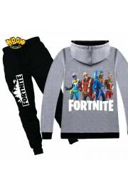 Fortnite Zip Hoodies Kids Cotton Sweatshirts 12