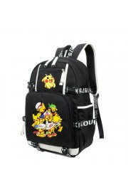 Pokemon backpack Pikachu bookbag large capacity(2 color)