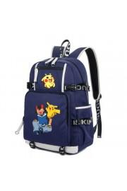 Pokemon backpack Pikachu bookbag large capacity(2 color)