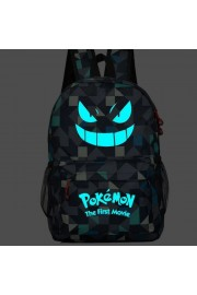 Pokemon backpack Pikachu bookbag Glows in the dark (4 color)