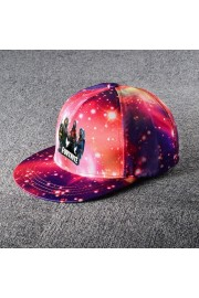 Fortnite Galaxy Snapback Hat Adjustable Flat Bill Baseball Cap 3