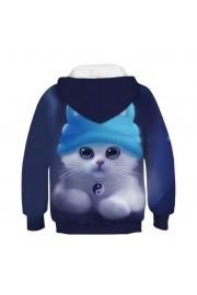 woow cat 3D Hoodie Sweatshirt Pullover