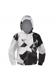 woow 3D Print diamond zipper Hoodie Sweatshirt 1